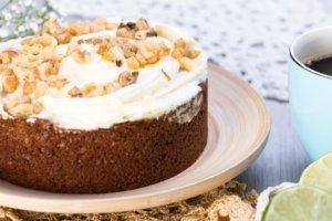 超簡單蛋糕系列-咖啡核桃蛋糕