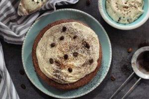 超簡單咖啡核桃蛋糕