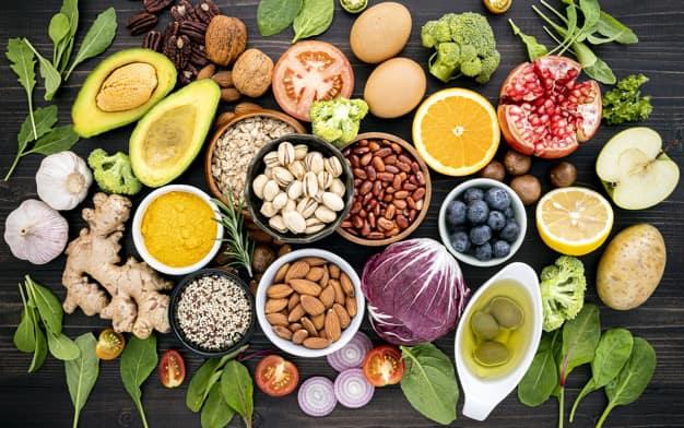 高蛋白食物作用