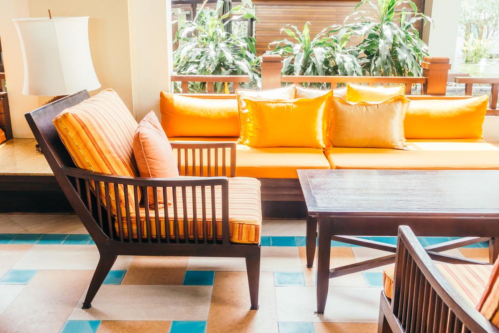 沙發材質:木質