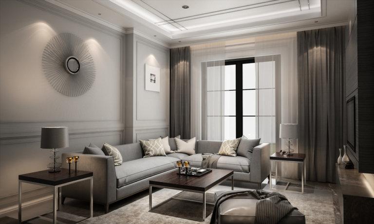 客廳擺設:沙發